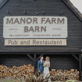 Weddings and Functions at the Manor Farm Barn, Southfleet near Gravesend